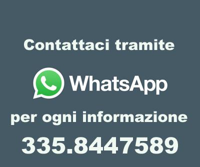 Scrivici con Whatsapp al 335.8447589